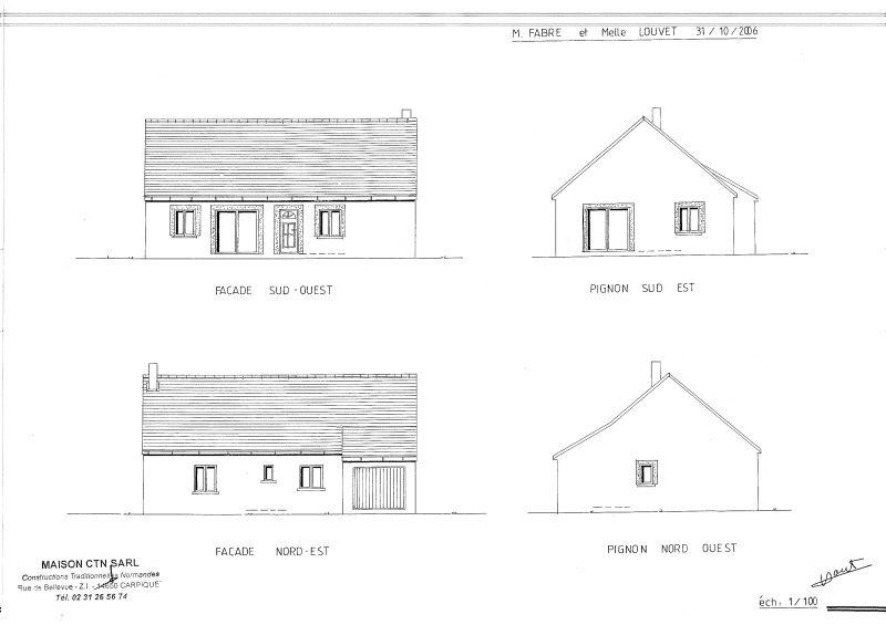 Suivi en live de la construction de notre maison ling vres blog ourhome page 10 - Exemple de plan de coupe ...